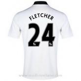 Meilleure Qualité Maillot Manchester United Fletcher Exterieur 2014 2015