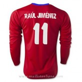 Nouvelle Collection Maillot Atletico De Madrid Ml Raul Jimenez Domicile 2015 2016