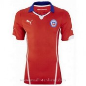 Nouvelle Collection Maillot Chili Domicile 2014 2015