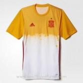 Nouvelle Maillot Avant-Match Espagne Blanc 2016 2017