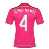 Nouvelle Maillot Real Madrid Sergio Ramos Exterieur 2014 2015