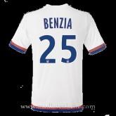 Original Maillot Lyon Benzia Domicile 2015 2016