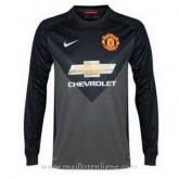 Original Maillot Manchester United Gardien Ml Exterieur 2014 2015