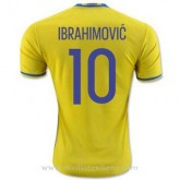 Promotions Maillot Suede Ibrahimovic Domicile Euro 2016