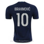 Remise Maillot Suede Ibrahimovic Exterieur Euro 2016