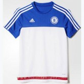 Soldes Maillot Formation Chelsea Blanc 2016