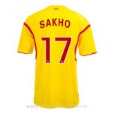 Soldes Maillot Liverpool Sakho Exterieur 2014 2015