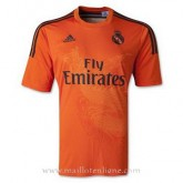 Vente Maillot Real Madrid Goalkeeper Orange 2014 2015