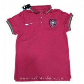 Vente Privee Maillot Portugal Polo Rouge 2016 2017