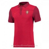 Vente Privée Maillot Portugal Polo Rouge Euro 2016