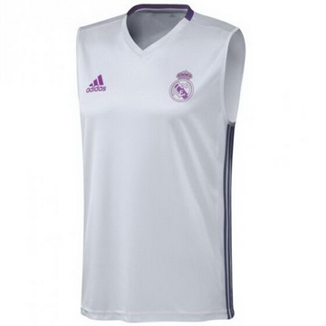 Boutique Officielle Maillot Sanst Manchest Real Madrid Blanc 2016 2017