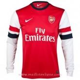 Achat Maillot Arsenal Manche Longue Domicile 2013-2014