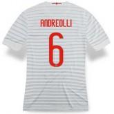 Achat Maillot Inter Milan Andreolli Exterieur 2014 2015