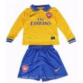 Acheter Maillot Arsenal Manche Longue Enfant Exterieur 2013-2014