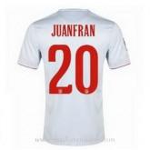 Acheter Nouveau Maillot Atletico De Madrid Juanfran Exterieur 2014 2015