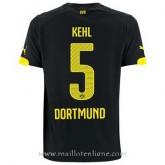 Acheter Nouveau Maillot Borussia Dortmund Kehl Exterieur 2014 2015