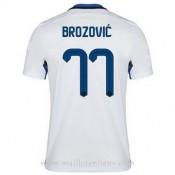 Acheter Nouveau Maillot Inter Milan Brozovic Exterieur 2015 2016