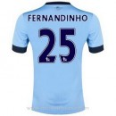 Acheter Nouveau Maillot Manchester City Fernandinho Domicile 2014 2015