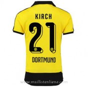 Authentique Maillot Borussia Dortmund Kirch Domicile 2015 2016