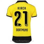 Authentique Maillot Borussia Dortmund Kirch Domicile 2015 2016