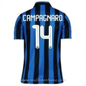 Authentique Maillot Inter Milan Campagnaro Domicile 2015 2016