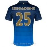 Authentique Maillot Manchester City Fernandinho Exterieur 2014 2015
