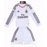 Boutique Officielle Maillot Real Madrid Manche Longue Enfant Domicile 2013-2014