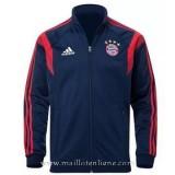 Boutique Veste De Foot Bayern Munich 2014 2015 Bleu Marine