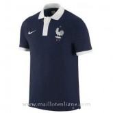 Boutique de Maillot France Polo Bleu 2016