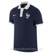 Boutique de Maillot France Polo Bleu 2016