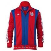 Boutique de Veste De Foot Bayern Munich 2014 2015 Rouge Et Bleu