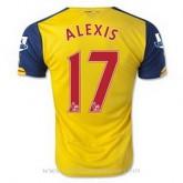 Catalogue Maillot Arsenal Alexis Exterieur 2014 2015