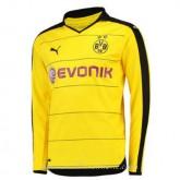 Catalogue Maillot Borussia Dortmund Manche Longue Domicile 2015 2016