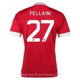 Catalogue Maillot Manchester United Fellaini Domicile 2015 2016
