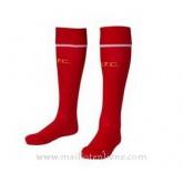 Chaussettes Foot Liverpool Rouge 2014 2015 Réduction