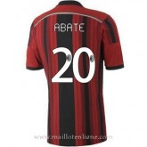 Collection Maillot Ac Milan Abate Domicile 2014 2015