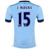 Collection Maillot Manchester City J.Navas Domicile 2014 2015