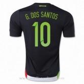 Collection Maillot Mexique G.Dos Santos Domicile 2015 2016