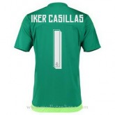 Collection Maillot Real Madrid Gardien Iker Casillas Exterieur 2015 2016