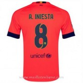 France Maillot Barcelone A.Iniesta Exterieur 2014 2015