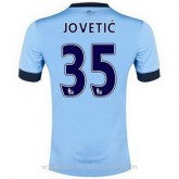 France Maillot Manchester City Jovetic Domicile 2014 2015