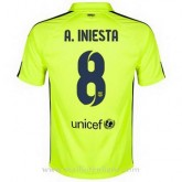 La Collection Maillot Barcelone A.Iniesta Troisieme 2014 2015