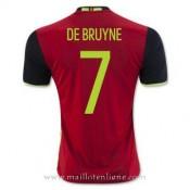 La Collection Maillot Belgique De Bruyne Domicile Euro 2016