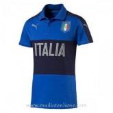 La Collection Maillot Italie Polo Bleu 2016 2017