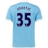 La Collection Maillot Manchester City Jovetic Domicile 2015 2016