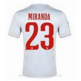 La Nouvelle Maillot Atletico De Madrid Miranda Exterieur 2014 2015