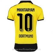 La Nouvelle Maillot Borussia Dortmund Mkhitaryan Domicile 2015 2016