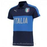 La Nouvelle Maillot Italie Polo Bleu Fonce 2016 2017