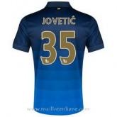La Nouvelle Maillot Manchester City Jovetic Exterieur 2014 2015