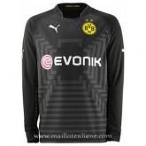 Le Nouveau Maillot Borussia Dortmund Ml Goalkeeper Exterieur 2014 2015
